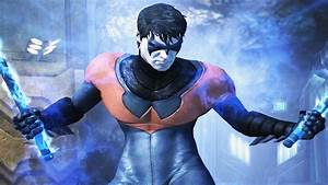 Injustice: Gods Among Us - New 52 Nightwing Super Attack ...