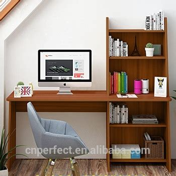 computer desk  shelf wooden writing desk study table