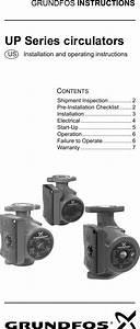 535061 2 Grundfos Ups 43 Instructions User Manual