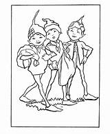 Coloring Pages Brownie Sheets Mythical Scout Brownies Elves Pixies Fairies Elf Printable Fantasy Pixie Medieval Activity Beings Fairy Popular sketch template