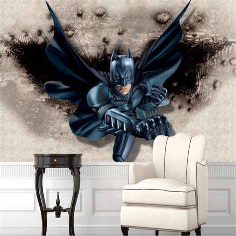 batman wall mural custom large photo wallpaper super