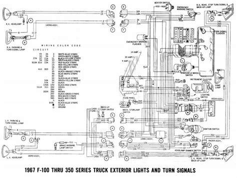 ford  turn signal wiring diagram wiring forums