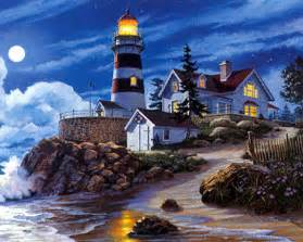 Free Online Lighthouse Jigsaw Puzzles