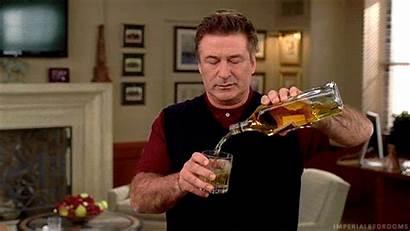 Rock Jack Donaghy Pouring Drink Baldwin Alec