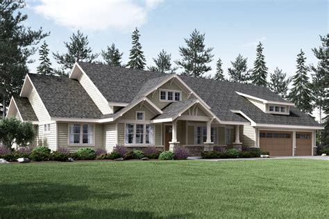 Craftsman House Plans  Westheart 10630  Associated Designs