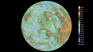 Mercury mapped in stunning detail by Nasa's Messenger ...