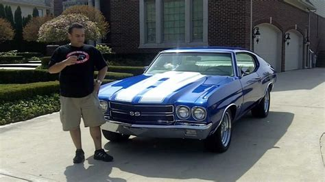 chevy chevelle fuel injected classic muscle car