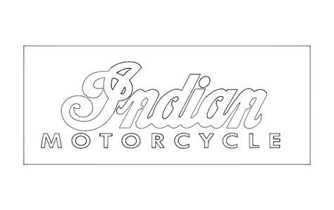 Indian Motorcycle Logo Dxf File Free Download