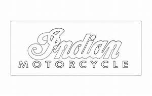 Line Separator Indian Motorcycle Logo Dxf File Free Download 3axis Co