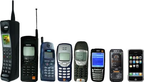 Mobile Phones Types With Evolution