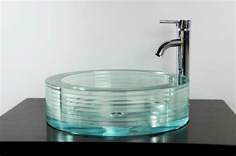 Bathroom Sink Glass