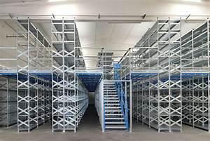 Shelf Supported 2 Tier Mezzanine Floors Pandae Storage