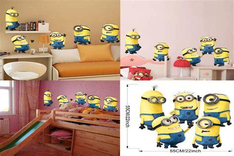 Wandtattoo Kinderzimmer Minions by Minions Wandaufkleber Minions Wandtattoo F 252 R 3 56