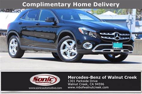 Hill start assist · electronic brakeforce distribution · electronic parking brake: Used Mercedes-Benz GLA-Class for Sale in Auburn, CA - CarGurus