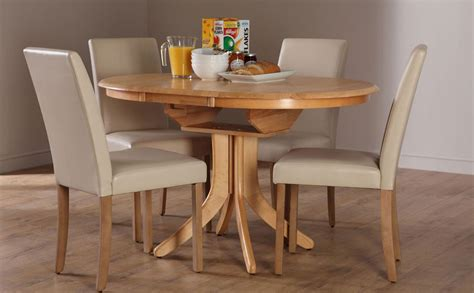 round extendable dining table  Extendable Dining Table