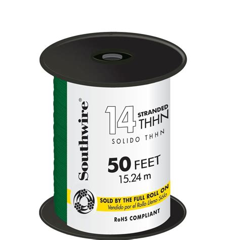 Southwire Green Stranded Thhn Wire