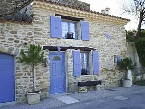 La Maison Du Volet : maisons aux couleurs de provence j 39 aime le vaucluse ~ Melissatoandfro.com Idées de Décoration