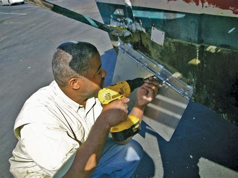 How To Install Trim Tabs On Boat by How To Install Trim Tabs Boating World