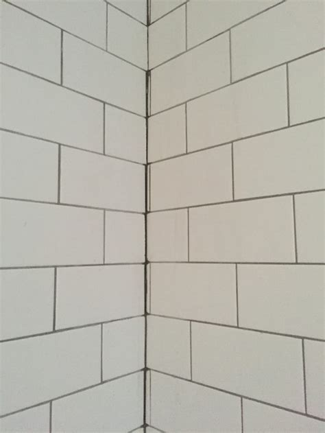 tile inside corners grout or caulk poor tile grout advice for grout