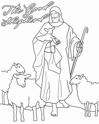 Coloring Shepherd Follow Pages Come Story Lesson