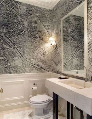 bathroom wallpaper ariel view map  cool   love