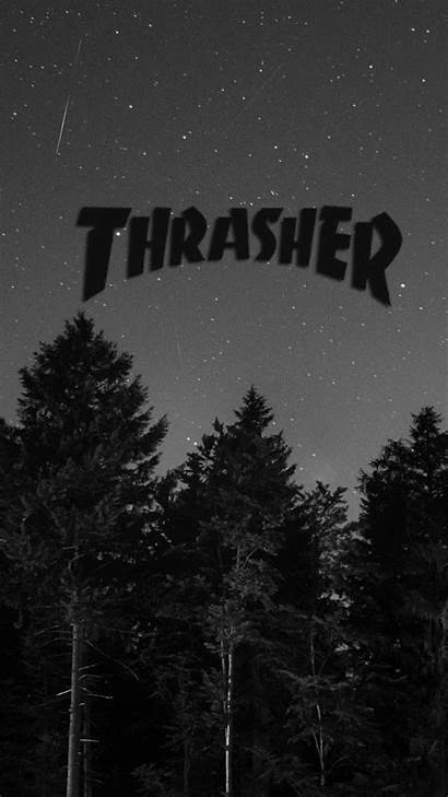 Thrasher Wallpapers Iphone Aesthetic Backgrounds Logos Phone