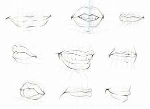 309 Best Draw Human Lips    Mouths    Tongue Images On