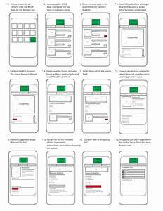 App storyboard for Storyboard template app