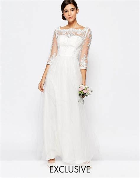 chi chi asos suknia ślubna koronka tiul w suknie ślubne szafa pl