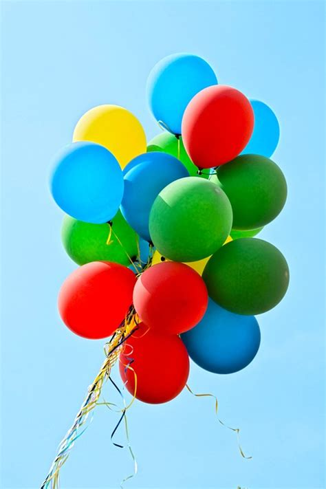 photo balloons party colorful  image