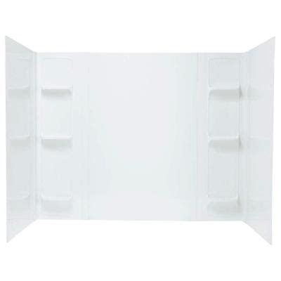 Home Depot Bathtub Surround by Mustee Durawall 42 In X 72 In X 58 In 5 Easy Up