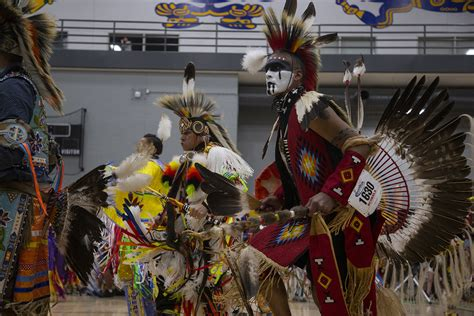 students  community members celebrate native american