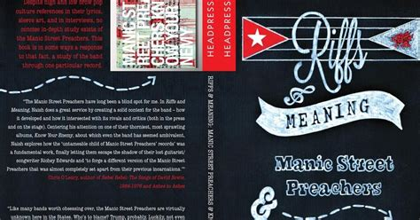 NUMBER 9.................. Reviewing The Arts UK-wide: REPORTAGE: Riffs And Meaning: The Manic ...