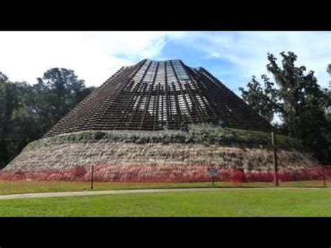 apalachee council house rethatching  youtube