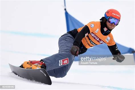 Zan Kosir of Slovenia competes in the Men's Parallel ...