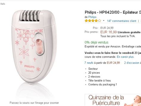 le philips living colors pas cher epilateur philips en vente flash 224 17 euros bons plans et astuces