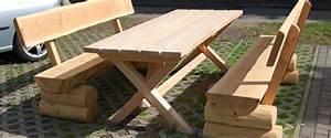 Holz Für Den Außenbereich : rustikale gartenm bel aus holz f r ihren garten naturstamm ~ Sanjose-hotels-ca.com Haus und Dekorationen