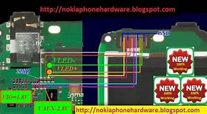 Nokia Phone Hardware  Nokia C2 Display Problem Jumper Solution