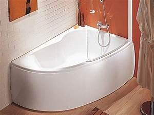 Baignoire D Angle Asymétrique : 1000 id es sur le th me baignoire d 39 angle sur pinterest ~ Dailycaller-alerts.com Idées de Décoration