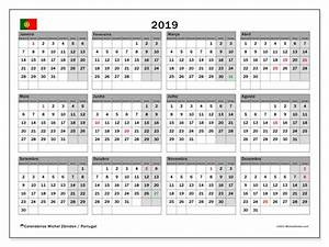 Calendário de de 2019, Portugal Michel Zbinden pt