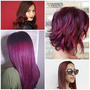 Red Violet Hair Color With Highlights | www.imgkid.com ...