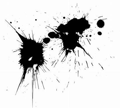 Splatter Paint Transparent Splatters Format Onlygfx Resolution