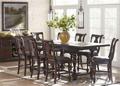 havertys dining table set dining rooms morningside counter height table dining