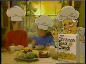"Cinnamon Toast Crunch ""Three Bakers"" Commercial 1987 - YouTube"