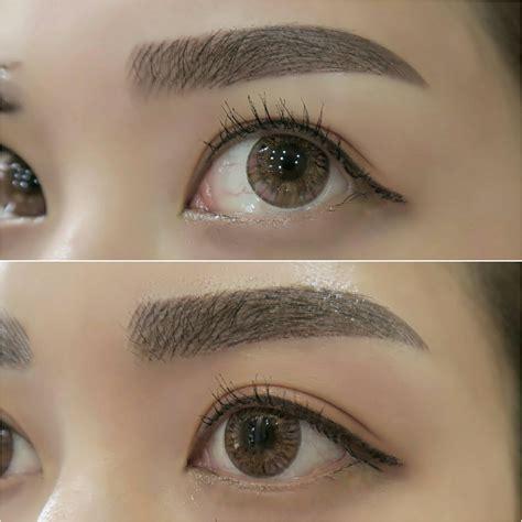 beauty review  nano eyebrow embroidery  sunshine brow