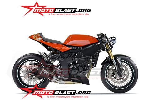 Modification Kawasaki Z250sl by Modif Kawasaki Z250sl Ala Cafe Racer Curan Motoblast