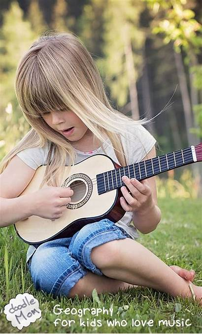Geography Play Guitar Wallpapers Playing Mobile Iphone