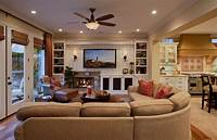 family room decorating ideas Traditional Family Room Decorating Ideas With Fireplace And Ceiling Fan | NYTexas