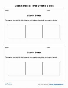 elkonin boxes udl strategies With elkonin boxes template
