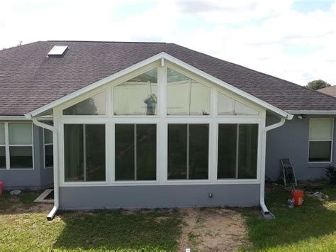 sunrooms ta fl paint sunrooms enclosed lanai glass and acrylic room